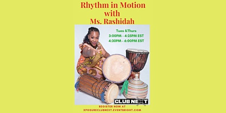 Rhythm in Motion! with Ms. Rashida tickets