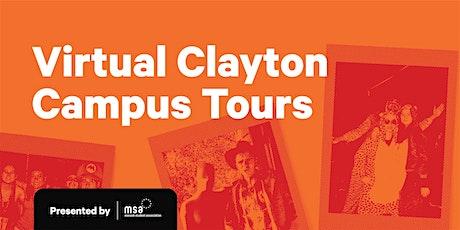 MSA Monash Clayton Campus Tours (Virtual Tours) tickets