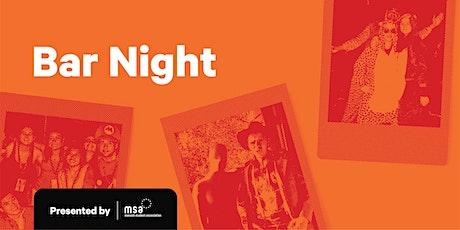 MSA C&E: Summer Bar Night tickets