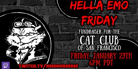 Hella Emo Friday Fundraiser tickets