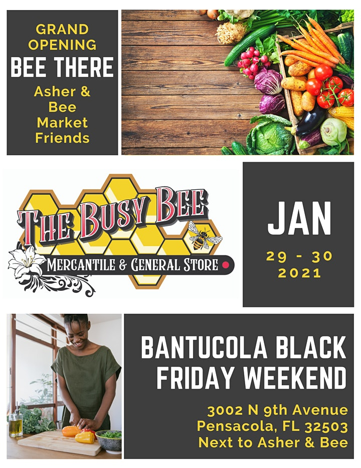 Busy Bee  Mercantile Grocery Store Grand Opening - Pensacola, FL image