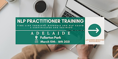 NLP Practitioner Training (Adelaide) FREE APPLICATION CHAT tickets