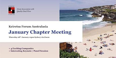 Keiretsu Forum Australasia - January 2021 Chapter Meeting tickets