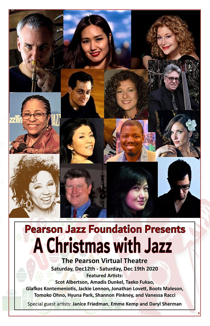 Christmas with Jazz a Holiday Virtual Concert Series image