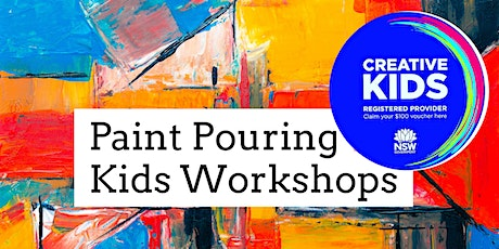 Paint Pouring Workshop B Friday 22nd January 2021 tickets