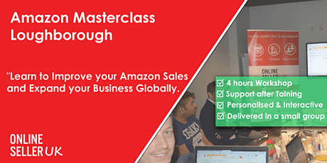 Amazon Masterclass Training Course - Loughborough tickets