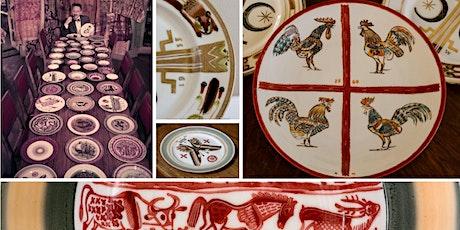Edgar Miller Designs   |  Virtual Decorated Plates Workshop tickets