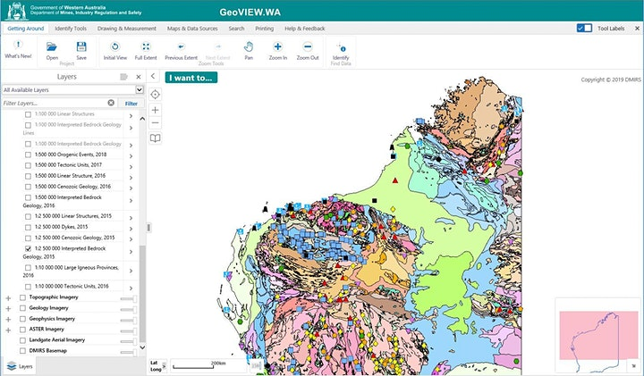 Using the interactive map viewers, GeoVIEW.WA and TENGRAPH Web image
