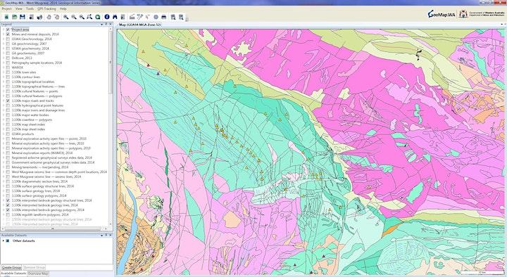 Navigating GeoMap.WA image
