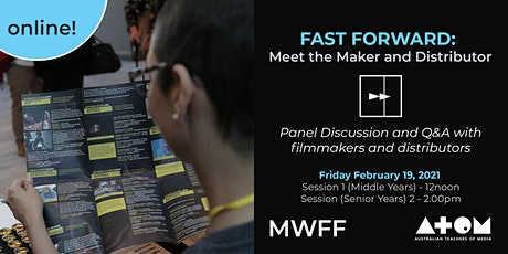 FAST FORWARD: Meet the Maker and Distributor - Session 1 tickets