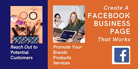 [Webinar] Create A Facebook Business Page to Promote Your Brand (Man) tickets