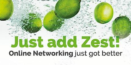 Just Add Zest! Online Networking by Zest Consultancy tickets