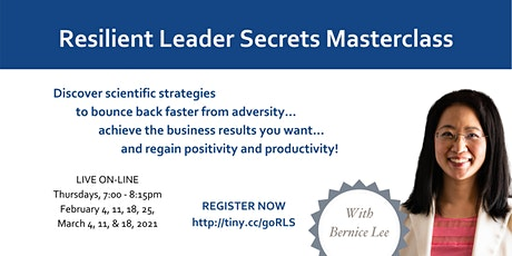 Resilient Leader Secrets Masterclass tickets