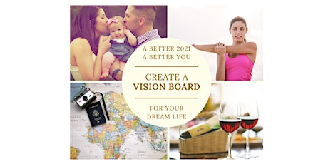 [webinar] Create A Vision Board - for your dream life (Man) tickets