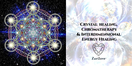 Crystal Healing with Inter-Dimensional Energy Healing -Reiki Master tickets