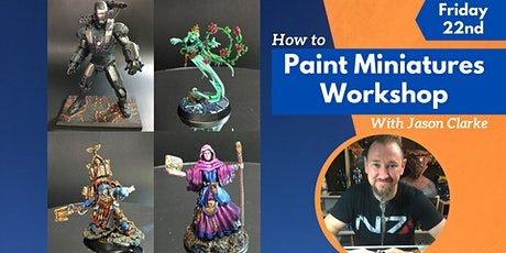 Introduction To Painting Miniatures (Gold Coast Art Workshop) tickets