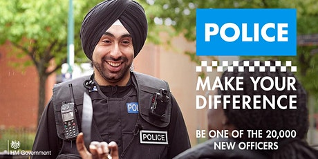 Make Your Difference - religion & belief police careers discovery event tickets