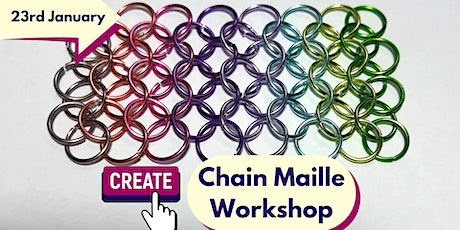 Learn To Make Chain Maille (Art & Craft Jewellery Workshop) tickets
