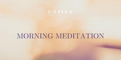 Morning Meditation tickets
