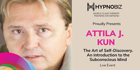 The Art of Self-Discovery with Attila J. Kun tickets