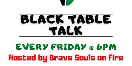 Black Table Talk tickets