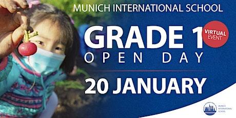 Grade 1 Open Day (Tag der offenen Tür für Erstklässler) biglietti
