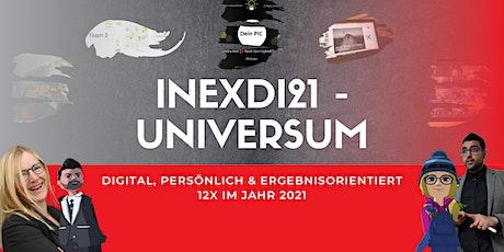 INEXDI21 – Die Digital Konferenz - 100% interaktiv & ergebnisorientiert Tickets