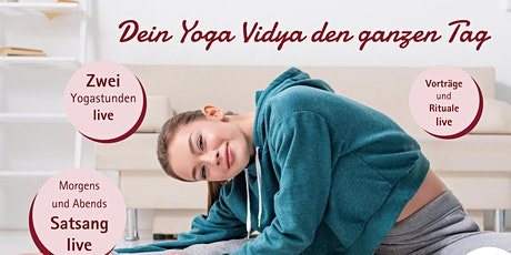 Yoga Vidya Live – Yogastunde nachmittags Tickets