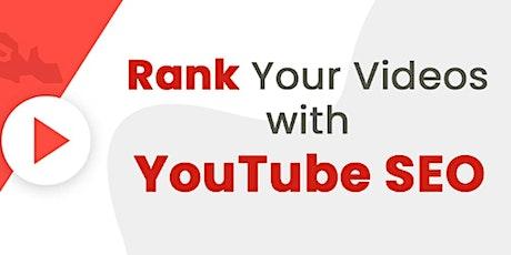 [Free Masterclass] How To Optimize & Rank YouTube Videos in Washington DC tickets