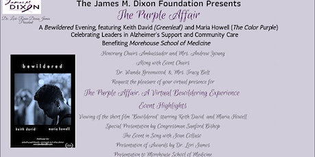 The Purple Affair A Virtual Bewildering Experience - tickets