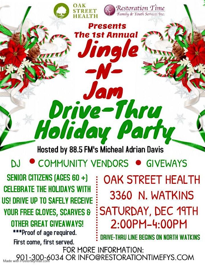 Jingle -N-Jam Senior Appreciation Drive Thru Party image