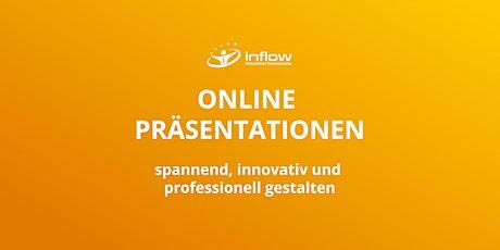 OA7: Online Präsentationen - professionell gestalten am 12.08.2021 Tickets