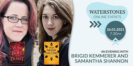 An evening with Brigid Kemmerer and Samantha Shannon tickets