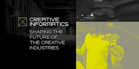 Creative Informatics Partnership Forum 3 tickets