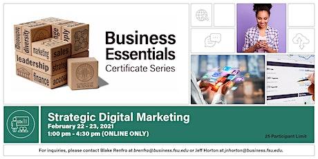 Strategic Digital Marketing tickets