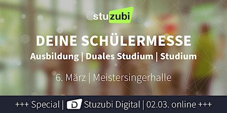 Stuzubi Nürnberg - Karrieremesse zur Berufsorientierung Tickets