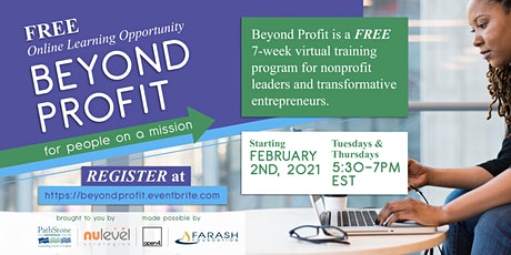 Beyond Profit: For People on a Mission tickets