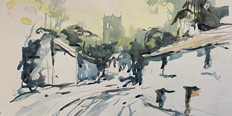 Snowy village: watercolours with Mike Willdridge tickets