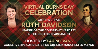 Burns Day Celebration with the Rt Hon Ruth Davidson MSP