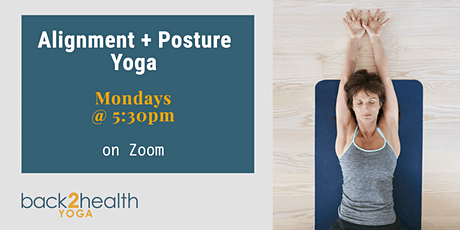 Alignment + Posture Yoga - Livestream tickets