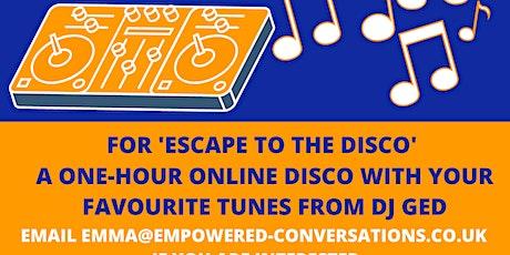 Escape to the Disco tickets