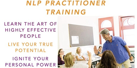 NLP practitioner training, the art of highly effective people tickets