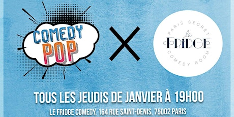 Fridge Comedy Pop billets