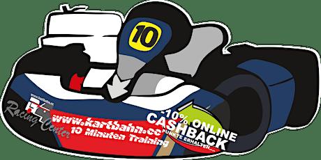 Strecken Test 10 Minuten Kart Trainingsfahrt  (ab März 2021) Tickets