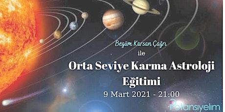 Orta Seviye Karma Astroloji Eğitimi tickets