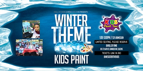 Kids Paint Party-Weso Creative tickets