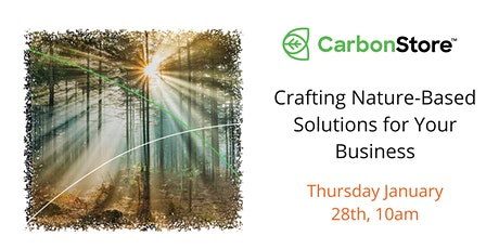 Crafting Nature-Based Solutions for Your Business tickets