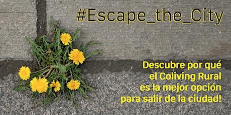 EscapetheCity: únete a la revolución del Coliving Rural para una mejor vida entradas