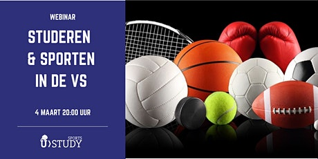 "Gratis webinar ""Studeren en sporten  in de VS"" tickets"