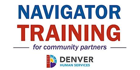 Denver Human Services Navigator 1.0 tickets